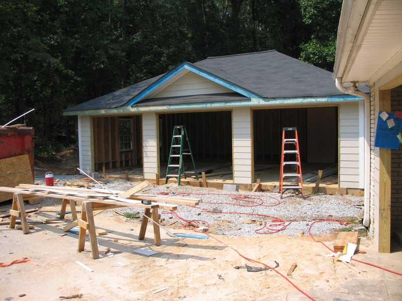 B c carpentry home additions and custom decks for Free standing garage